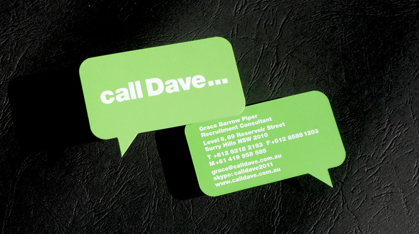 die cutting from corporate australia's printing specialist